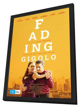 Fading Gigolo - 11 x 17 Movie Poster - Australian Style A - in Deluxe Wood Frame