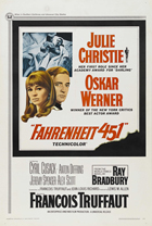 Fahrenheit 451 - 27 x 40 Movie Poster - Style F