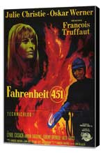 Fahrenheit 451 - 11 x 17 Poster - Foreign - Style A - Museum Wrapped Canvas