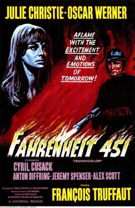 Fahrenheit 451 - 11 x 17 Movie Poster - Style A