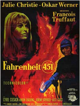 Fahrenheit 451 - 11 x 17 Poster - Foreign - Style A