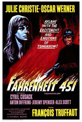 Fahrenheit 451 - 27 x 40 Movie Poster - Style A