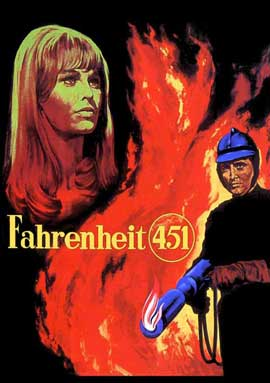 Fahrenheit 451 - 11 x 17 Movie Poster - Style D