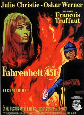 Fahrenheit 451 - 11 x 17 Movie Poster - French Style A