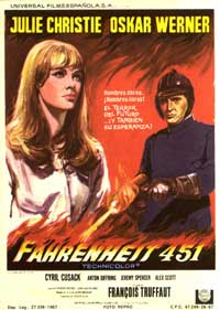 Fahrenheit 451 - 27 x 40 Movie Poster - Spanish Style A