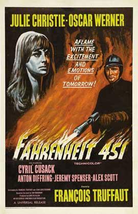 Fahrenheit 451 - 11 x 17 Movie Poster - Style E