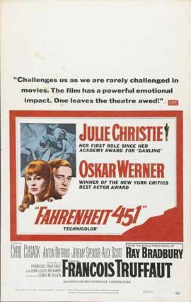 Fahrenheit 451 - 11 x 17 Movie Poster - Style F