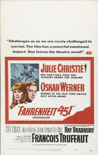 Fahrenheit 451 - 27 x 40 Movie Poster - Style D