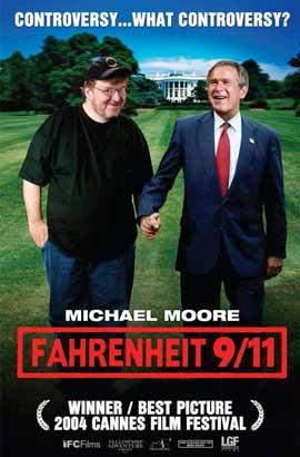 Fahrenheit 9/11 - 11 x 17 Movie Poster - Style B