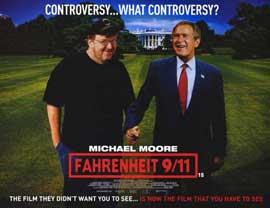 Fahrenheit 9/11 - 11 x 14 Movie Poster - Style E