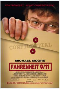 Fahrenheit 9/11 - 43 x 62 Movie Poster - Bus Shelter Style A