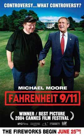Fahrenheit 9/11 - 27 x 40 Movie Poster - Style B
