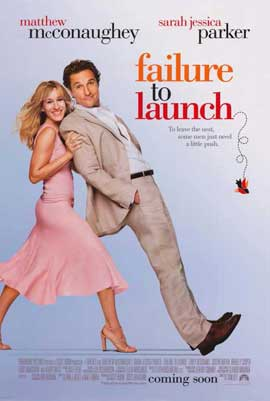 Failure to Launch - 11 x 17 Movie Poster - Style A