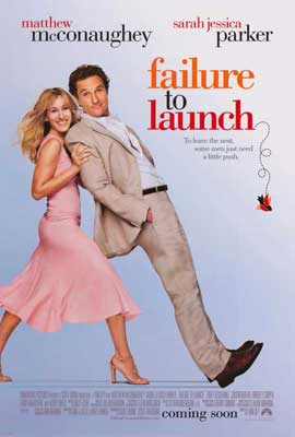 Failure to Launch - 27 x 40 Movie Poster - Style A