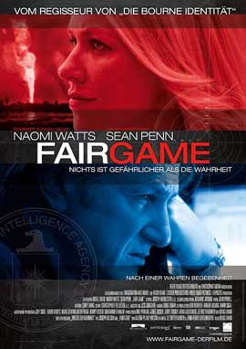Fair Game - 11 x 17 Movie Poster - German Style A