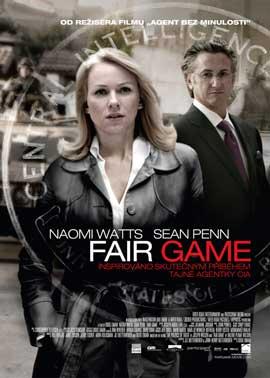 Fair Game - 43 x 62 Movie Poster - Czechoslovakian Style A