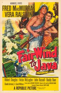 Fair Wind to Java - 11 x 17 Movie Poster - Style A