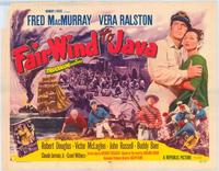 Fair Wind to Java - 43 x 62 Movie Poster - Bus Shelter Style B