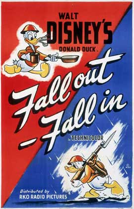 Fall Out-Fall in - 11 x 17 Movie Poster - Style A