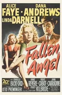Fallen Angel - 11 x 17 Movie Poster - Style B