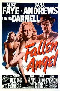 Fallen Angel - 27 x 40 Movie Poster - Style B