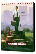 Falling Down - 11 x 17 Movie Poster - Style A - Museum Wrapped Canvas