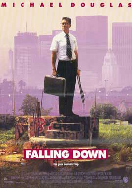 Falling Down - 11 x 17 Movie Poster - German Style A