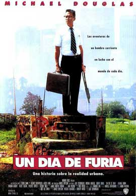 Falling Down - 11 x 17 Movie Poster - Spanish Style A