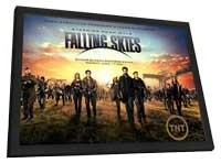 Falling Skies - 11 x 17 TV Poster - Style C - in Deluxe Wood Frame
