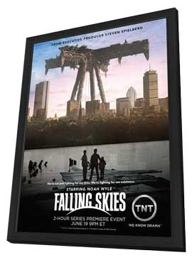 Falling Skies - 11 x 17 TV Poster - Style A - in Deluxe Wood Frame