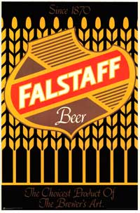 Falstaff Beer - Party/College Poster - 24 x 36 - Style A