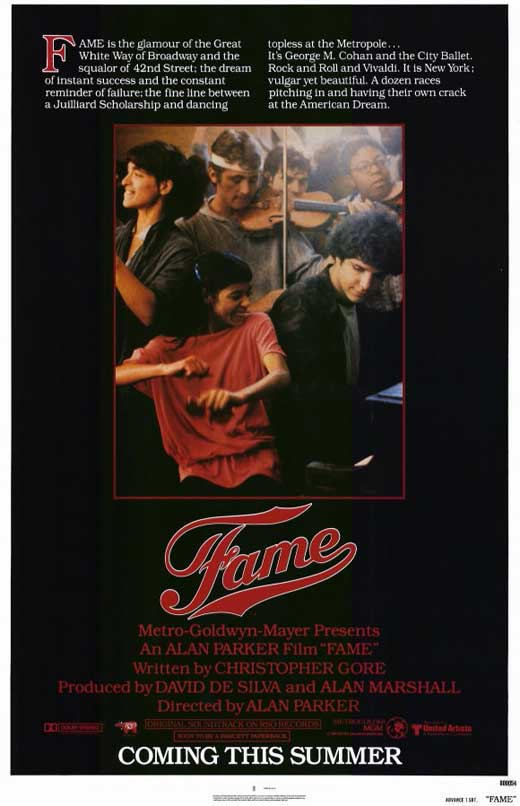 Fame Movie Posters From Movie Poster Shop