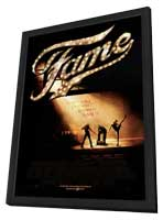 Fame - 27 x 40 Movie Poster - Style D - in Deluxe Wood Frame