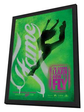 Fame - 11 x 17 Movie Poster - Style A - in Deluxe Wood Frame