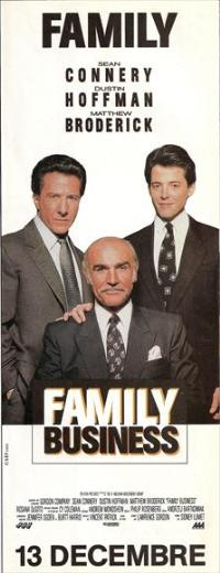 Family Business - 14 x 36 Movie Poster - French Style B