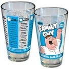 Family Guy - Drinking Game Blue and Yellow Pint Glass