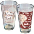 Family Guy - I'd Love To Chat But You're A Bitch Pint Glass