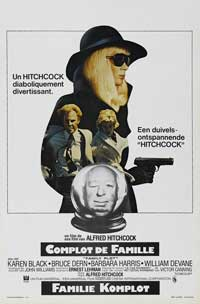 Family Plot - 11 x 17 Movie Poster - Belgian Style A