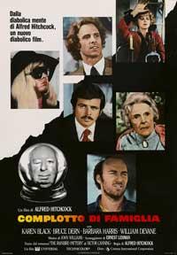 Family Plot - 27 x 40 Movie Poster - Italian Style B