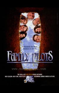 Family Plots - 27 x 40 TV Poster - Style A