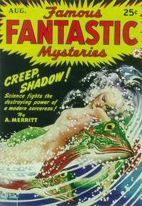Famous Fantastic Mysteries (Pulp) - 11 x 17 Pulp Poster - Style B