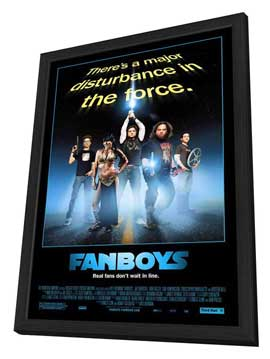 Fanboys - 11 x 17 Movie Poster - Style B - in Deluxe Wood Frame