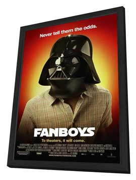 Fanboys - 27 x 40 Movie Poster - Style A - in Deluxe Wood Frame
