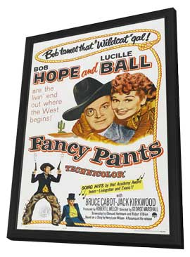 Fancy Pants - 11 x 17 Movie Poster - Style A - in Deluxe Wood Frame