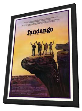 Fandango - 11 x 17 Movie Poster - Style A - in Deluxe Wood Frame