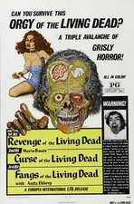 Fangs of the Living Dead - 27 x 40 Movie Poster - Style A