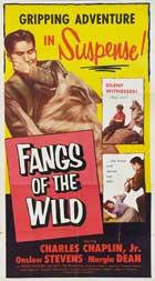 Fangs of the Wild - 27 x 40 Movie Poster - Style A