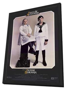 Fanny and Alexander - 27 x 40 Movie Poster - Style A - in Deluxe Wood Frame