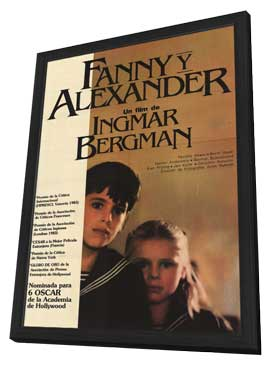 Fanny and Alexander - 11 x 17 Movie Poster - Argentine Style A - in Deluxe Wood Frame