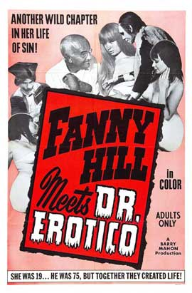 Fanny Hill Meets Dr. Erotico - 11 x 17 Movie Poster - Style A